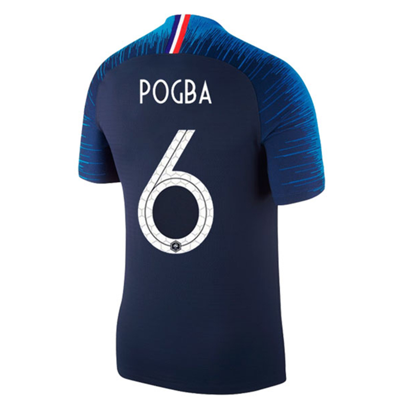98d55052a 2018 France World Cup 2 Star Soccer Jerseys For Mbappe DEMBELE POGBA  GRIEZMANN