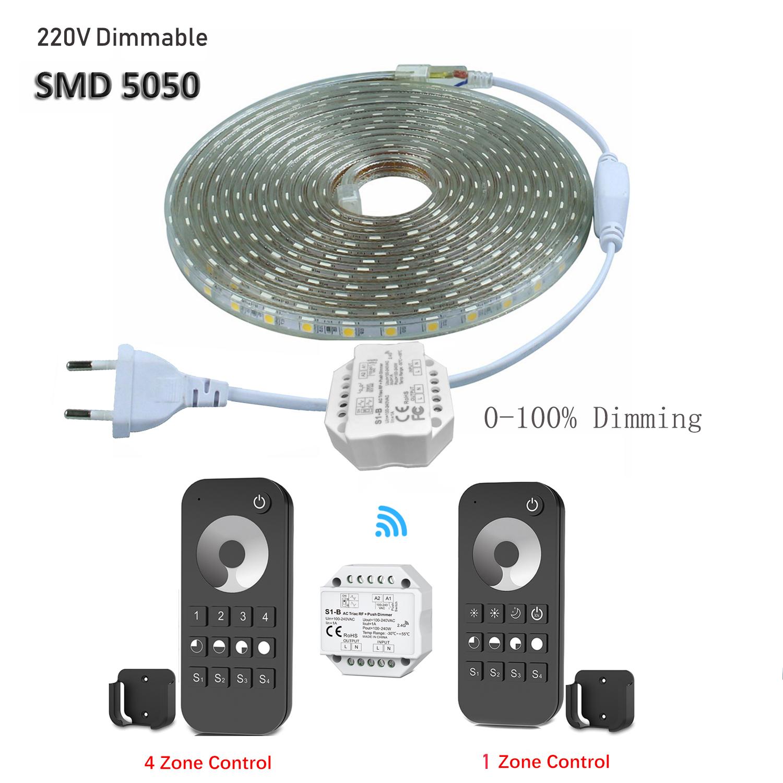 20m 230v 5050smd led strip dimmbar lichtleiste lichtband licht schlauch streifen ebay. Black Bedroom Furniture Sets. Home Design Ideas