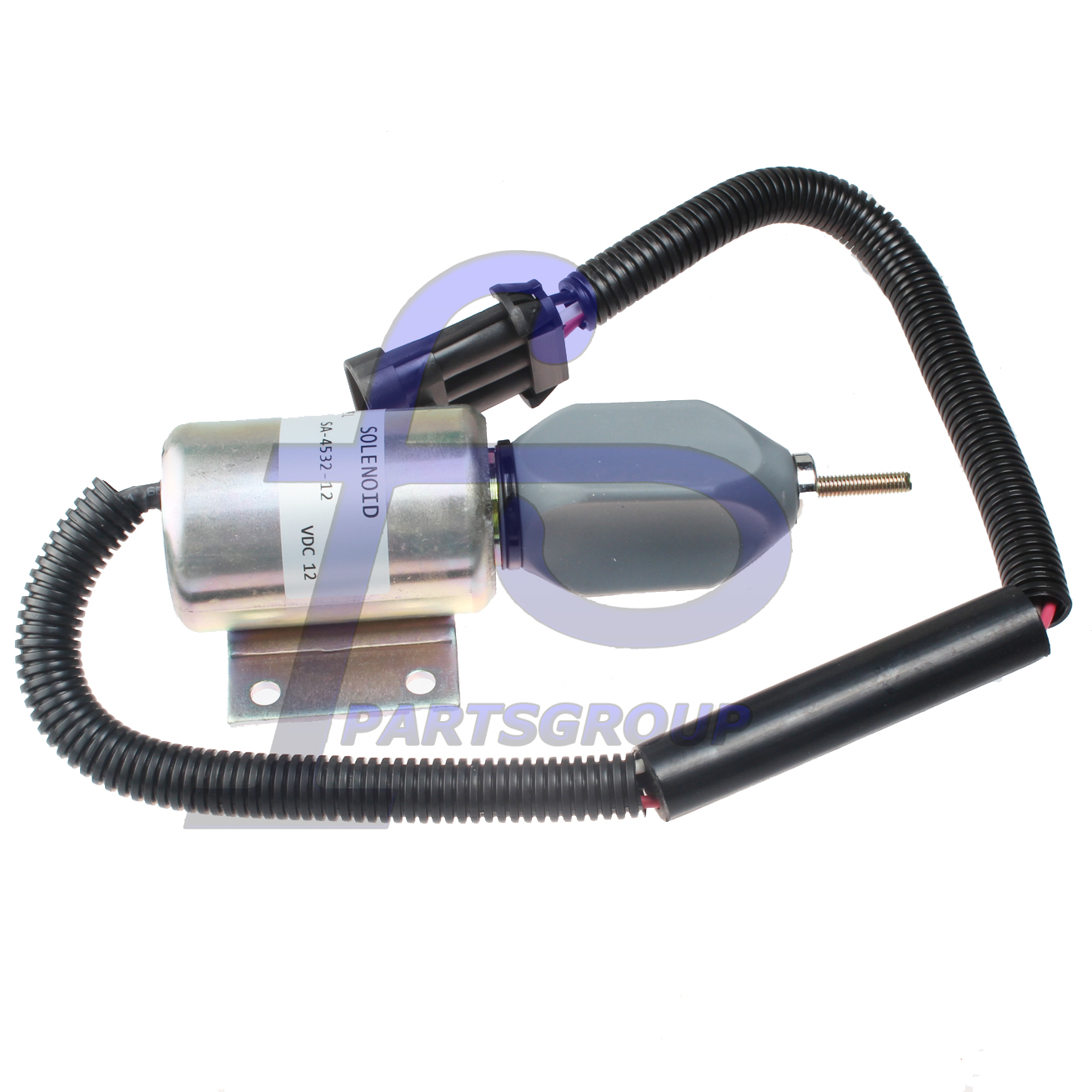DD-70 SD-70D-TF Fuel Solenoid 12V For Ingersoll-Rand SD-105DX SD-77DX-TF