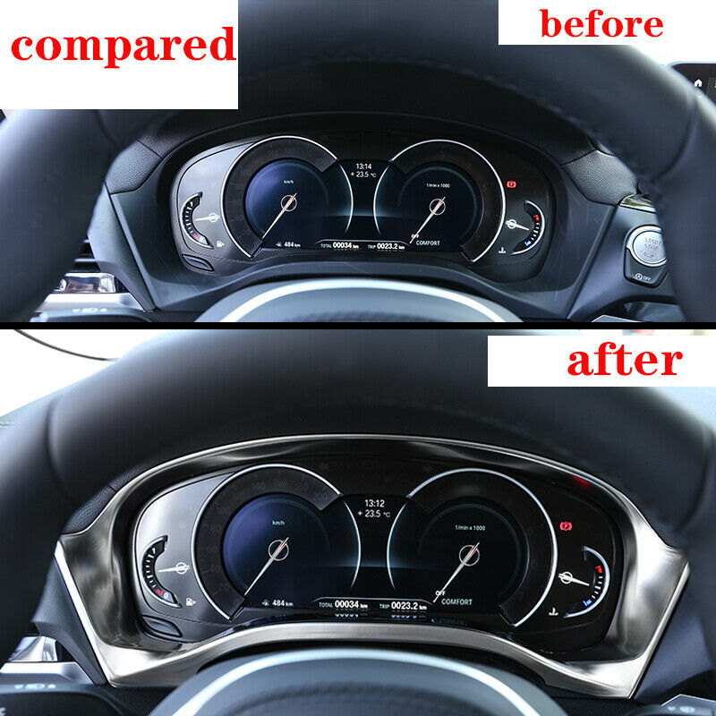 For BMW X3 X4 G01 G02 2018-2019 Interior Front Dashboard