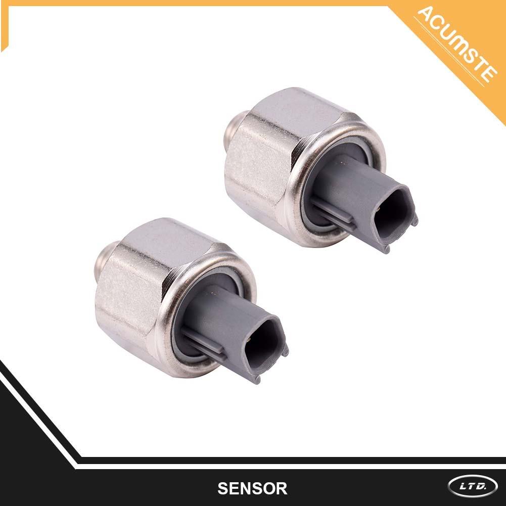 2pcs Genuine Denso Knock Sensor 89615 12090 For Toyota Lexus Avalon 2001 Sienna Location Camry