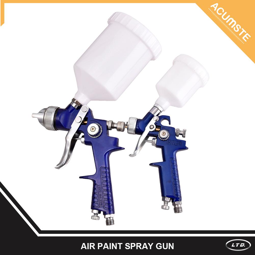 2 HVLP 1 0mm 1 4mm Air Spray Nozzle Gun Primer Gravity Feed Paint