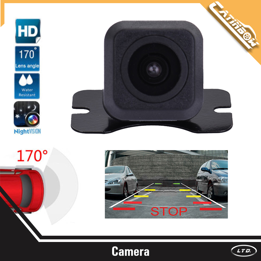 Waterproof Car Rear View Reverse Backup Parking Camera Night Vision 170° Cmos Mouldings & Trim