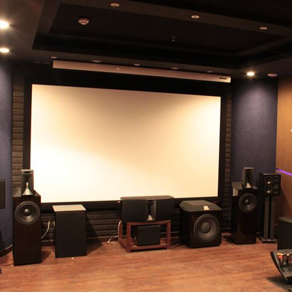 100inch Portable Foldable Projector Screen 16:9 HD Home Theater ...