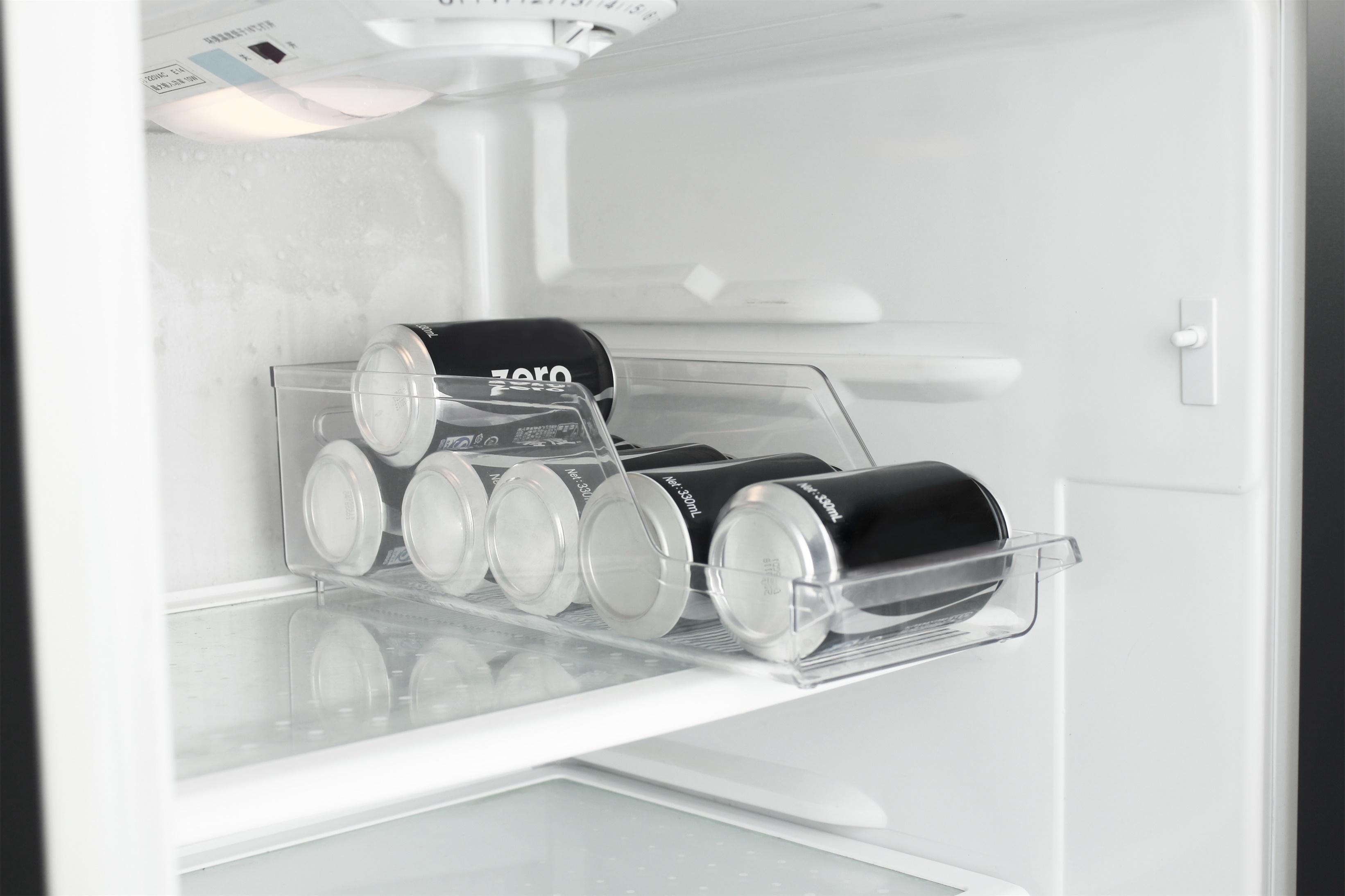 Kühlschrank Organizer Stapelbar : Kühlschrank aufbewahrung organizer getränkedosen box material