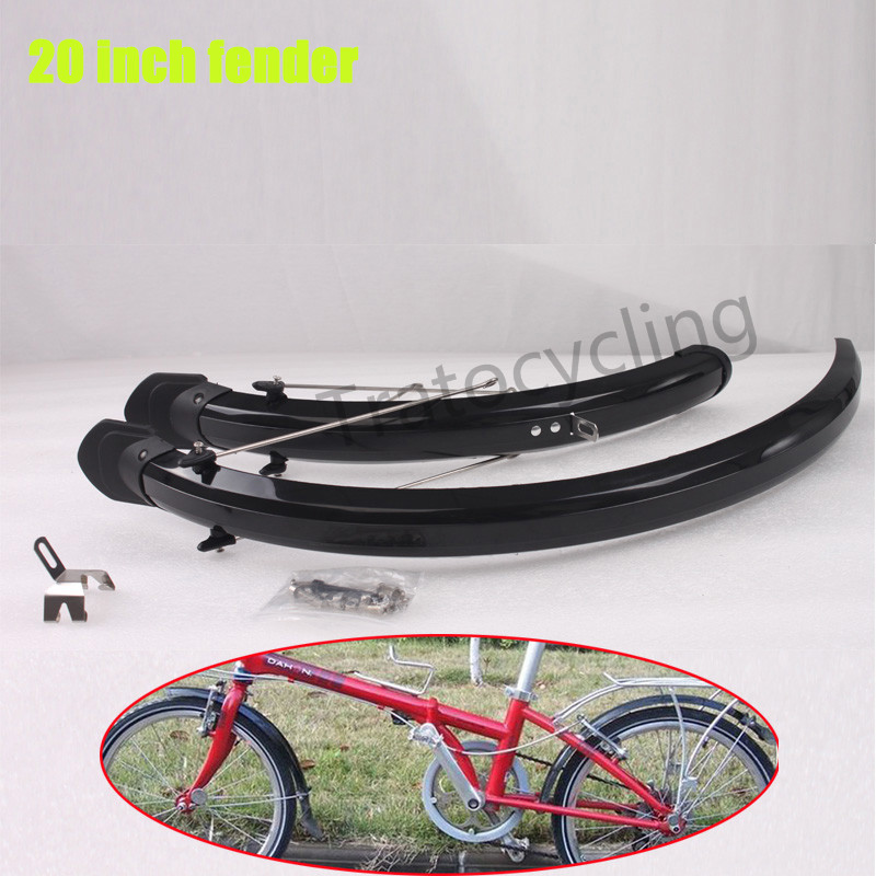 1 Pair Bike Folding Bicycle Fender Mudguard Front /& Rear Mud Guard Set