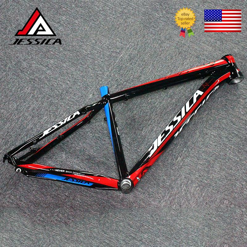 """JESSICA MTB Bike 26*16/""""  Frame BB68 Aluminum Straight Tube Frameset Disc Brake"""