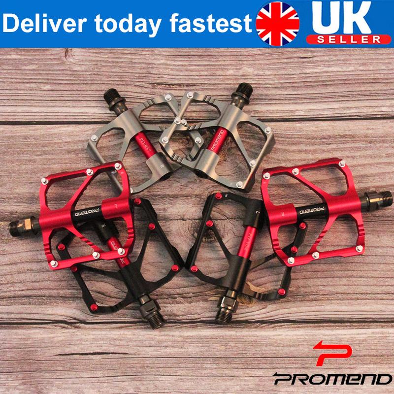 MTB Road Bike Bicycle Ultra-light 9//16/'/' Triple Bearing Aluminum Platform Pedals