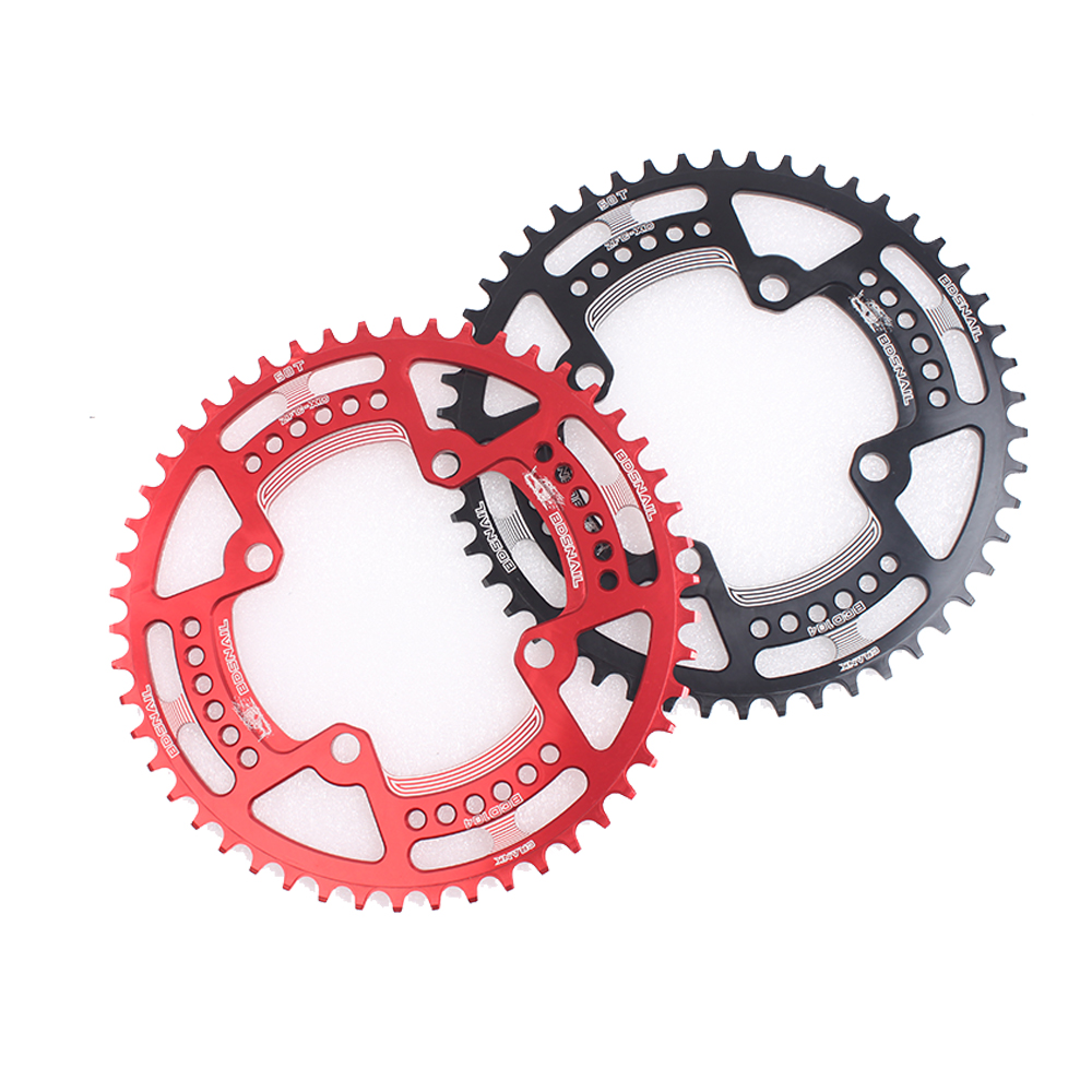 104BCD MTB Bike Chainring Round Narrow Wide 44-52T Tooth Bicycle Sprocket Bolts