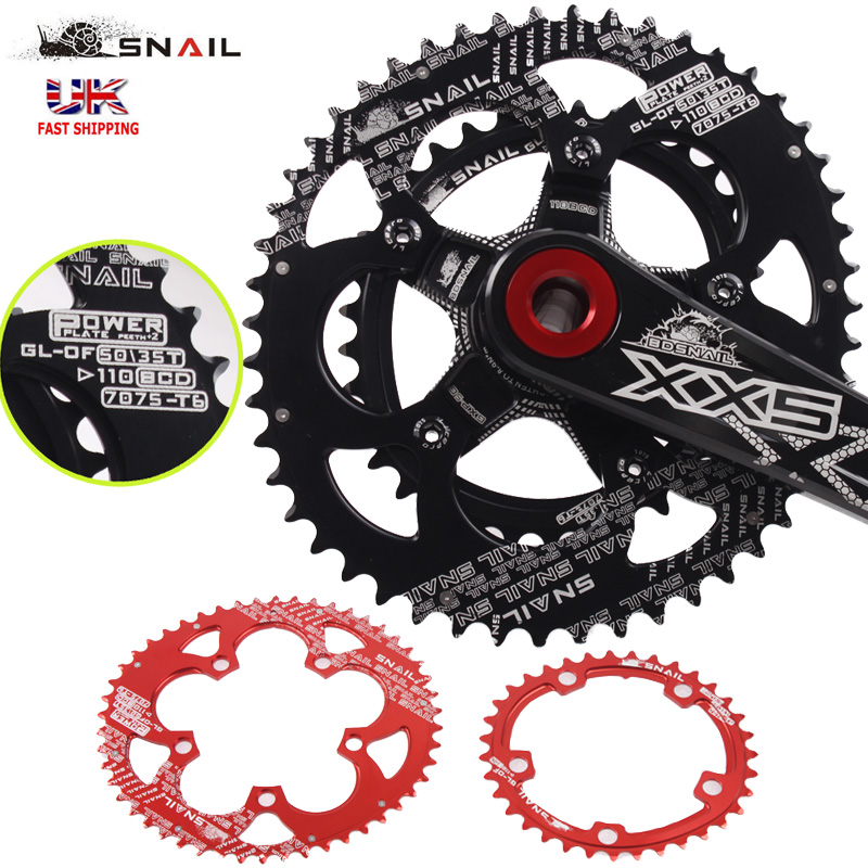 Outer chain guard for double or single chainset 110 bcd 42 tooth max