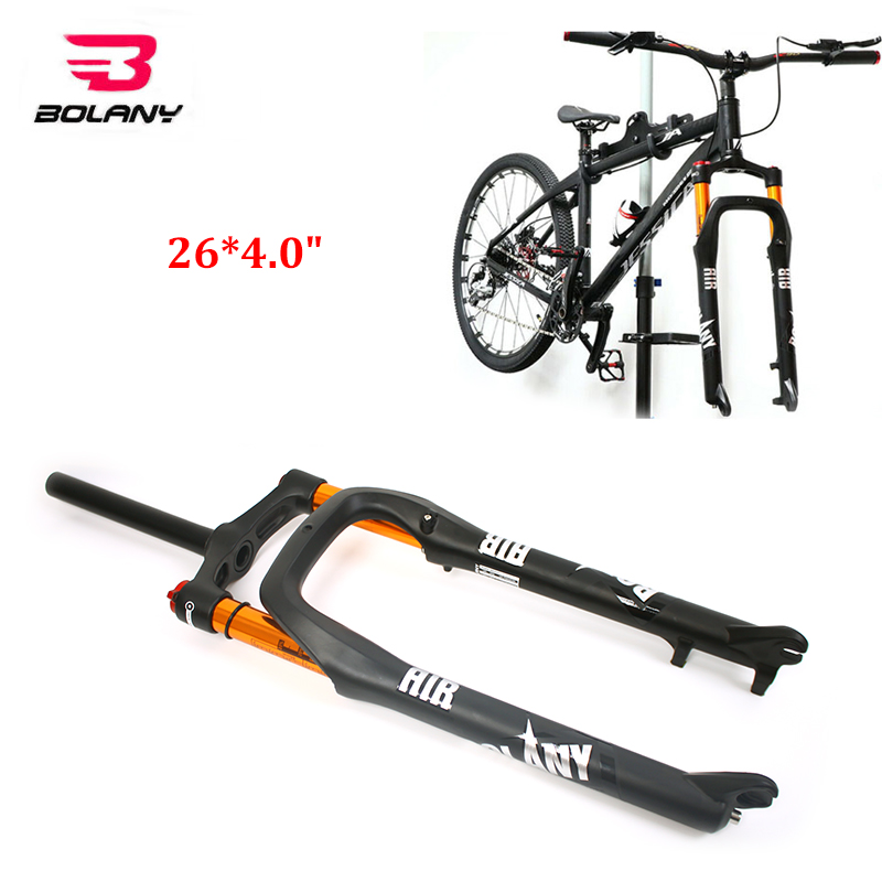 "26/"" Fat Bike Fork Suspension 4.0 Tire Snow Bicycle 1-1//8/"" 135 x 9mm qr Mountain"
