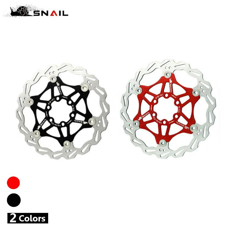 SNAIL Hydraulic Disc Brake MTB Bike Disc Brake Floating Rotor 160mm,180mm,203mm