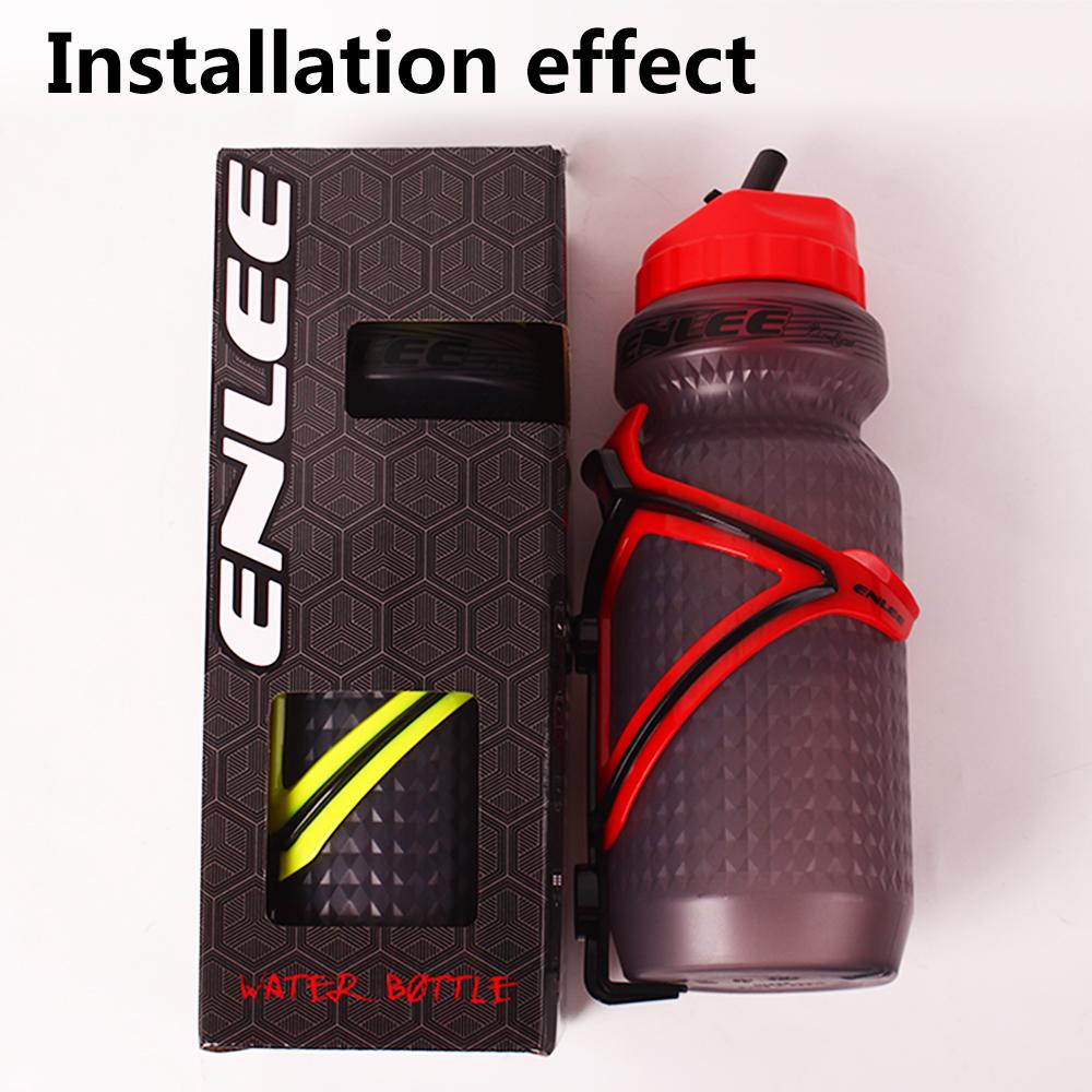 Water Bottle Cages 2PCS Plastic Hiking Bike Drink Cup Flask Holder Bracket
