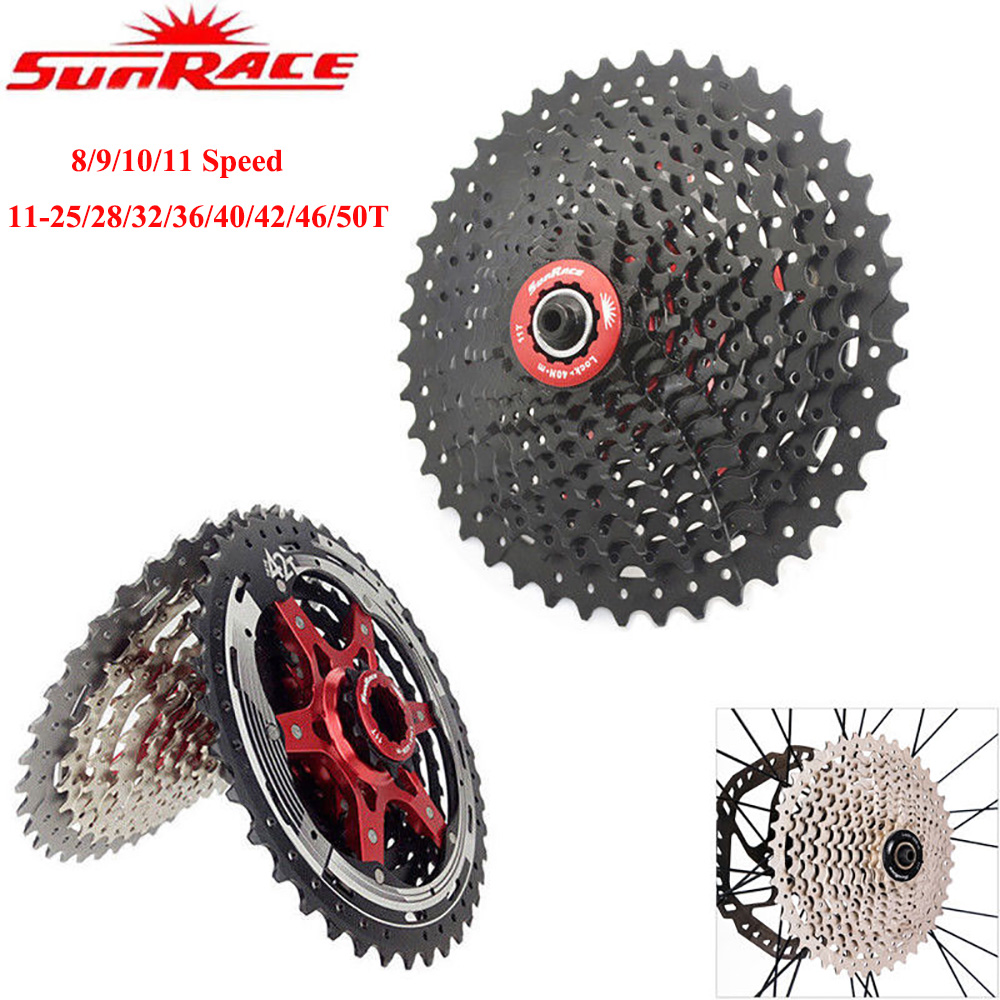 SUNRACE CSRX1 Road Bike 11 Speed Cassette 11-36T Freewheel for shimano sram