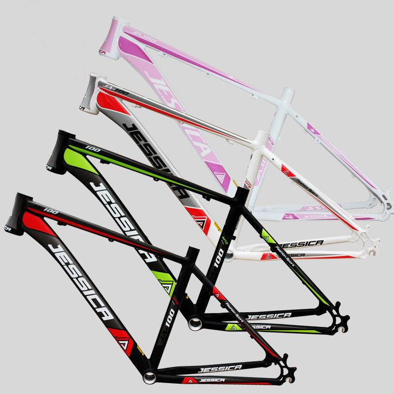 """26er Aluminum Alloy MTB Bicycle Frame /&Headset 15.5/"""" 17/"""" 18/"""" Bike Wheel Frameset"""