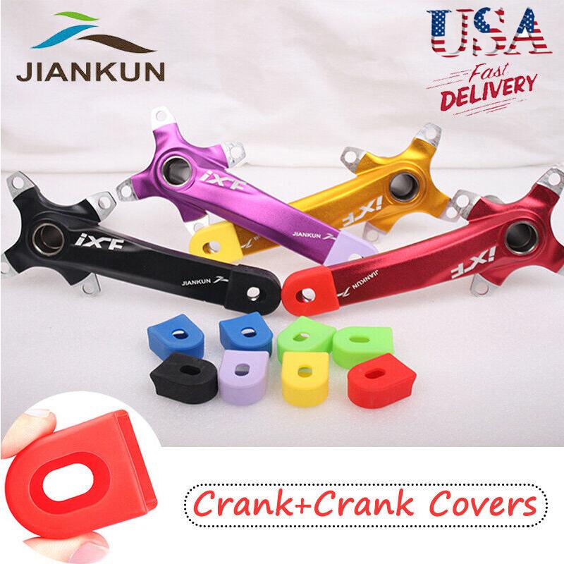 US STOCK Single//Double//Triple 7//8//9//10//11s 104bcd Crankset MTB Bike Crank set BB