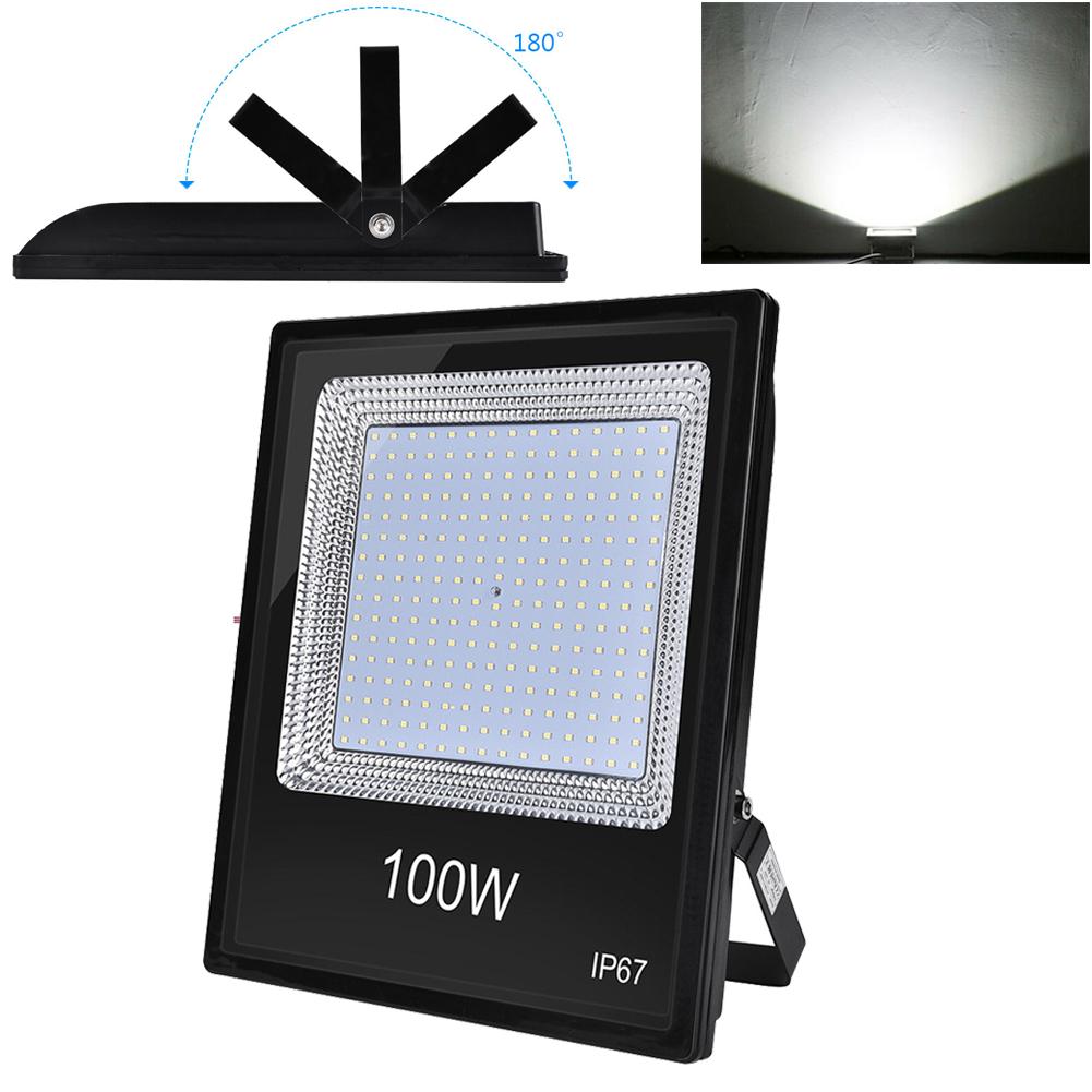 LED Fluter Strahler Scheinwerfer Flutlicht 10W SMD Außen 220V IP67 Kaltweiß