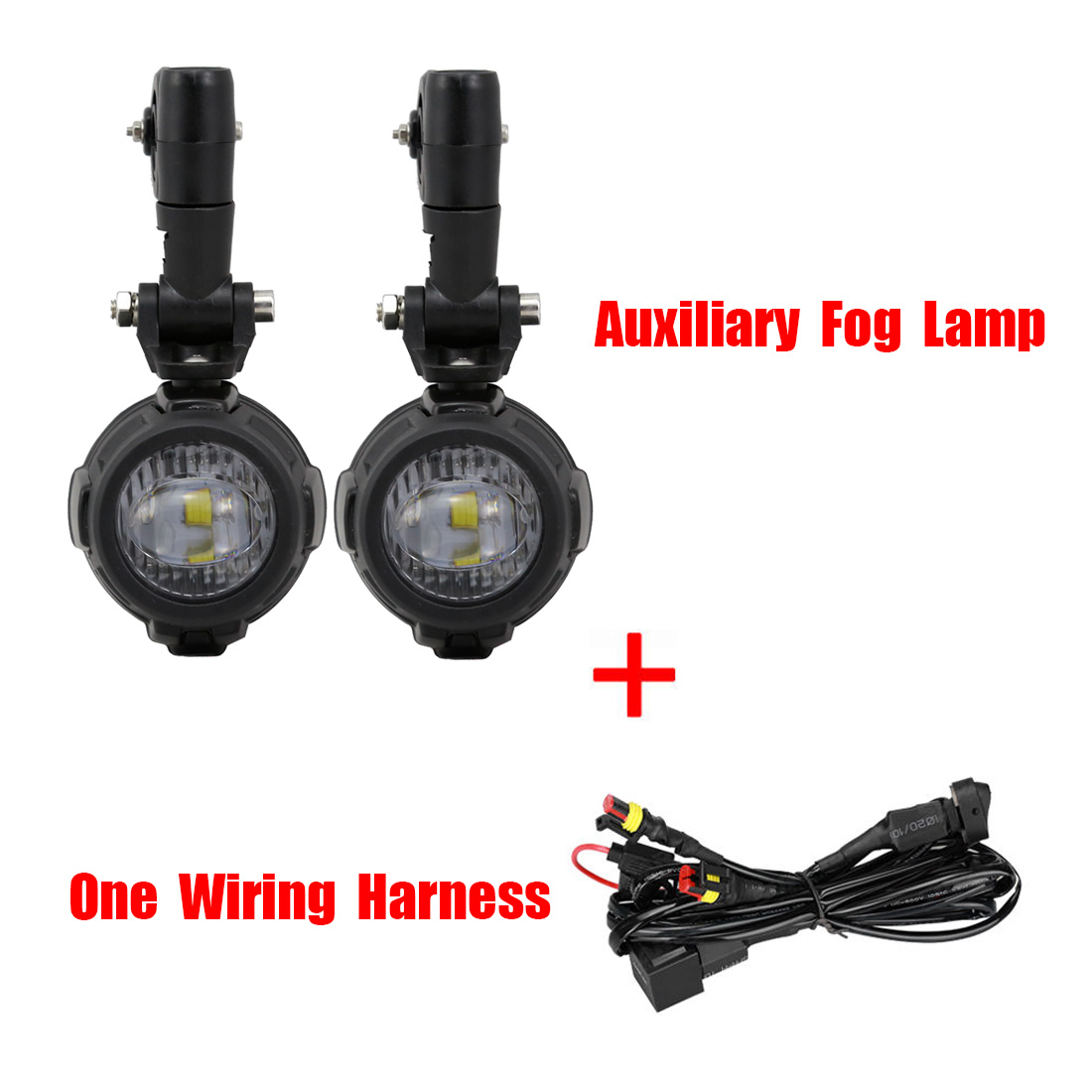 Universal Fog Light Wiring Harness Ebay Library Curving Led Diagram For Use Spot Auxiliary 40a Switch Bmw Motorcycle Kit