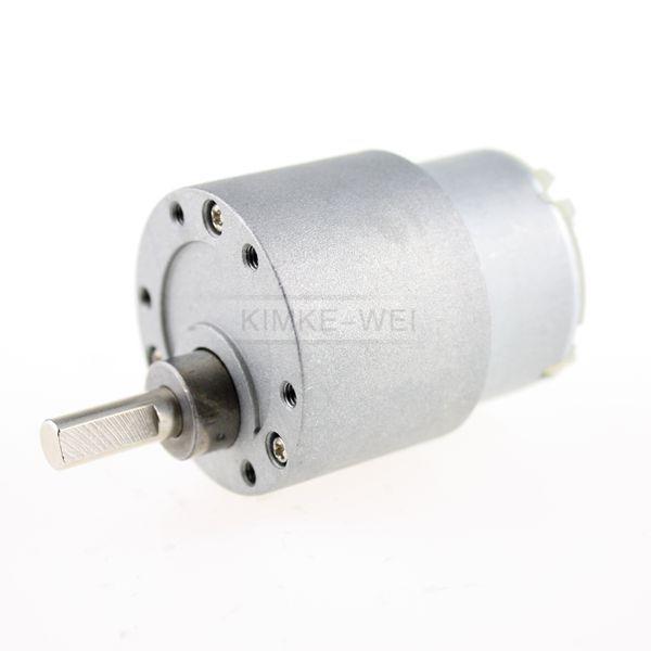 12V DC 70 RPM High Torque Gear Box Electric Motor DC Geared Motor