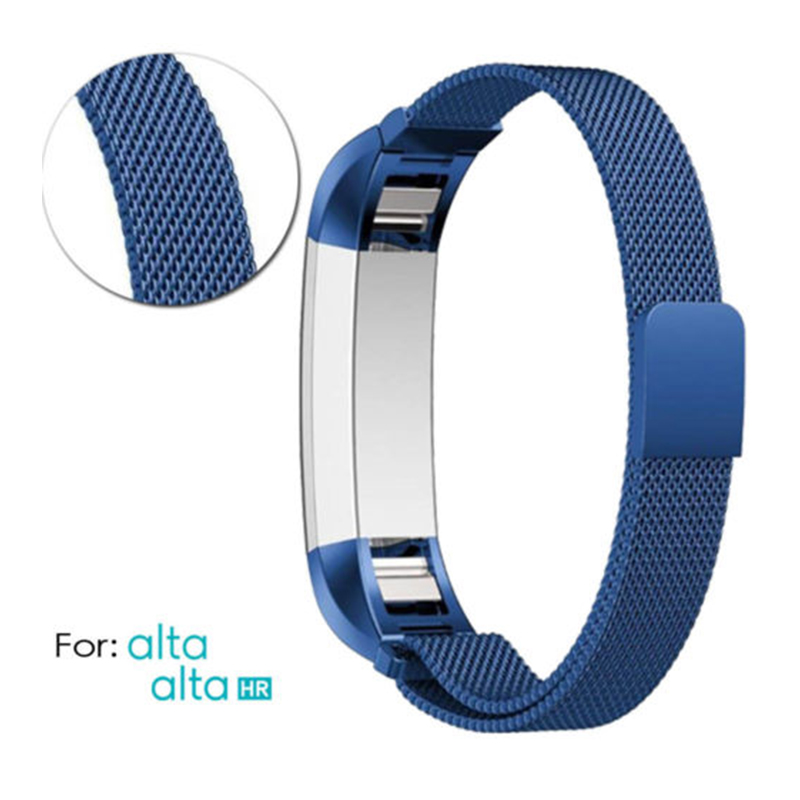 Stainless-Steel-Replacement-Spare-Band-Strap-for-Fitbit-Alta-Alta-HR thumbnail 23