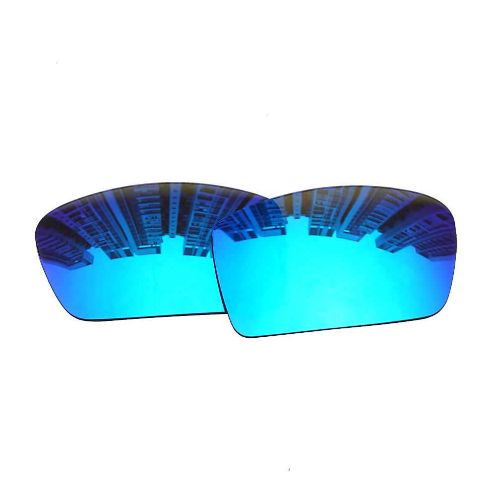 e5fbafb3b0 HAWOIGCI Polarized Blue Replacement Mirror Lenses For-Oakley Gascan  Sunglasses