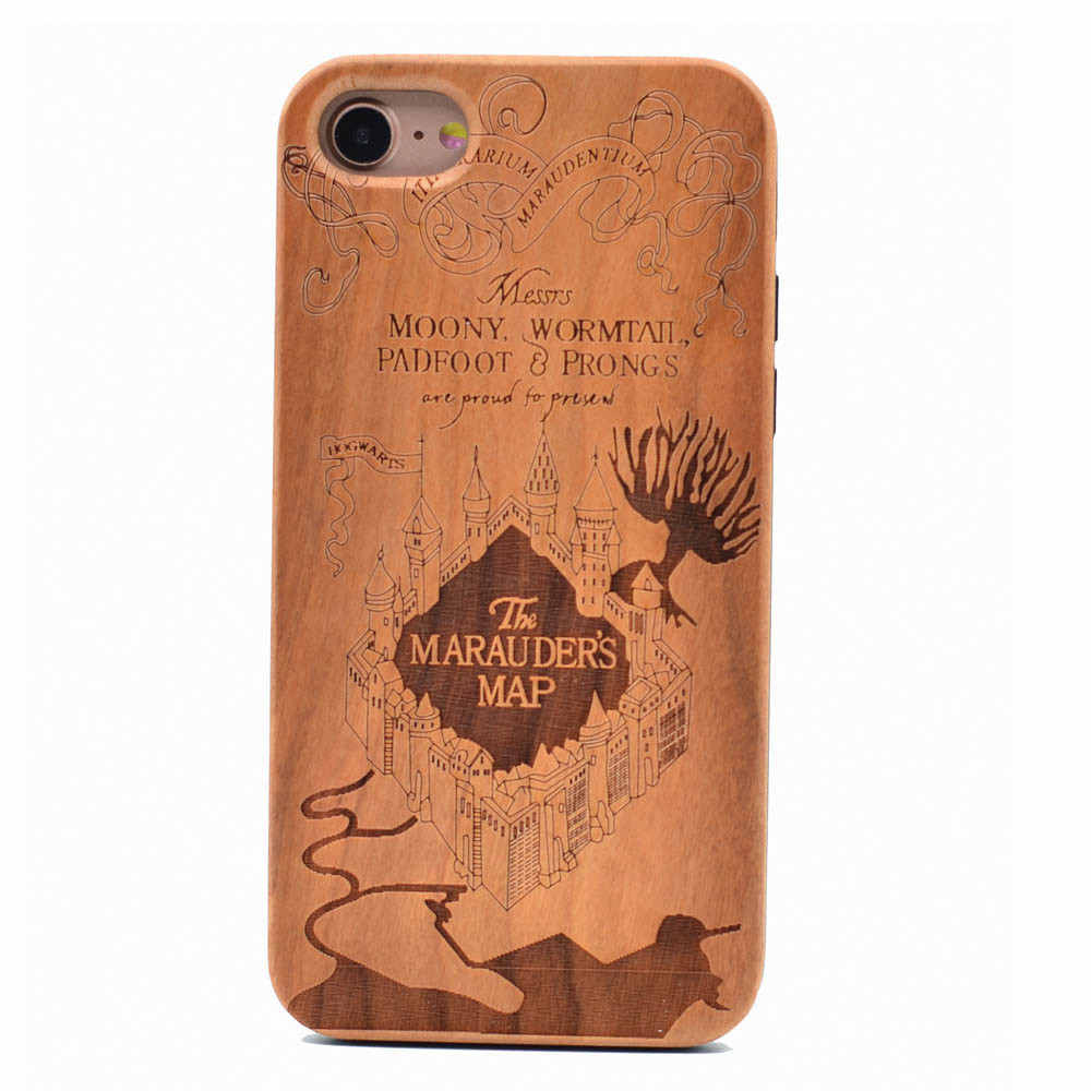 Carving Harry Potter The Marauders Map Real Wood