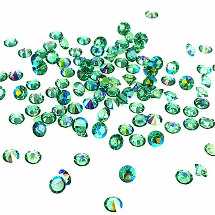 1000// Blue AB Crystal Birthstones Floating Charm for Glass Living Memory Lockets