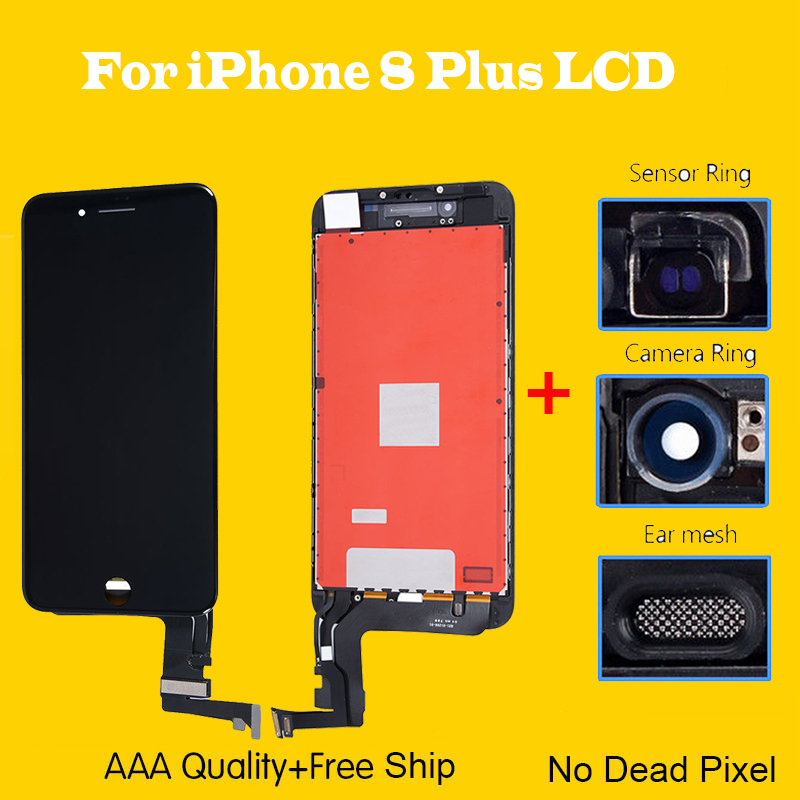 sports shoes 23868 8fb5c Details about For iPhone 8 Plus Front Screen Replacement LCD Touch Display  Digitizer Assembly