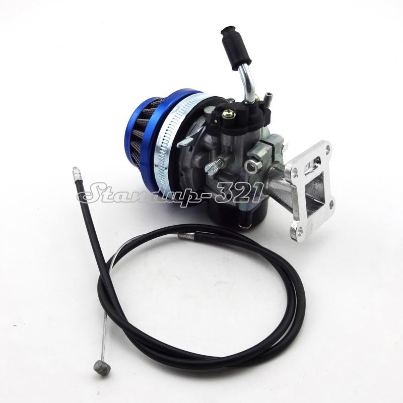 Mini Moto Gas Carburetor Throttle Cable For Dirt ATV Quad Pocket Bike 47cc 49cc