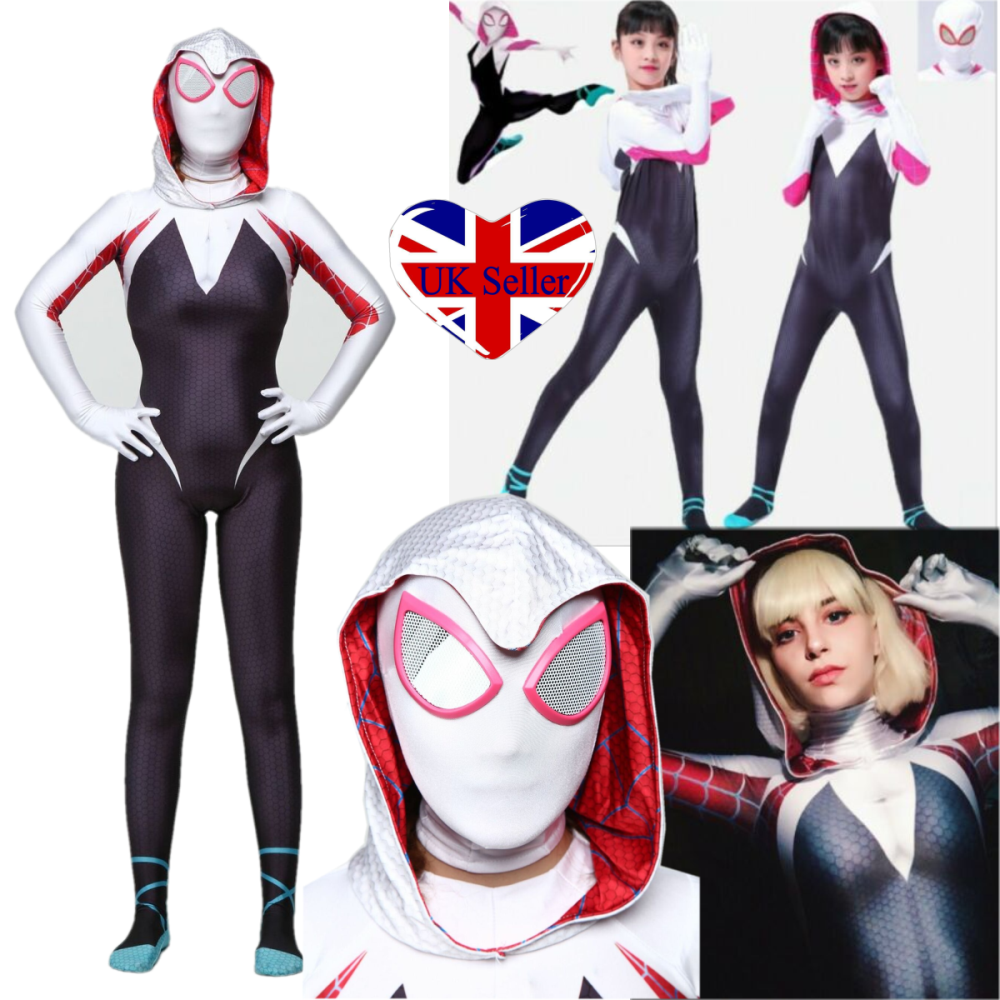 Adult Marvel Comics Movie Amazing Spider-Man Gwen Stacy Blonde Costume Wig Kit