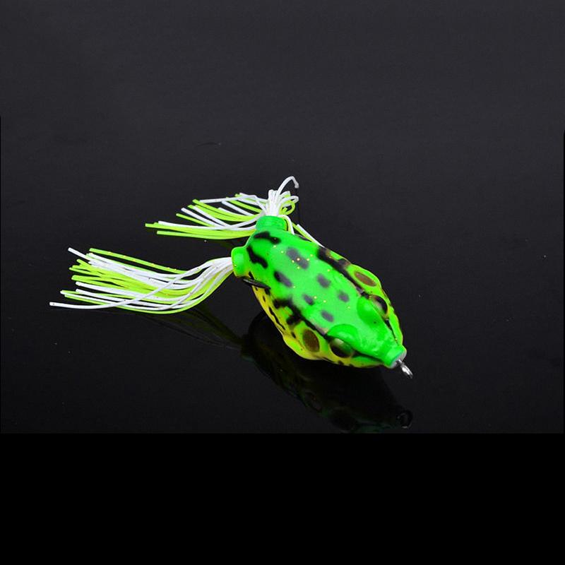 8 st ck set weich topwater frosch angeln k der barsch wobbler k der ger t ebay - Frosch auf englisch ...