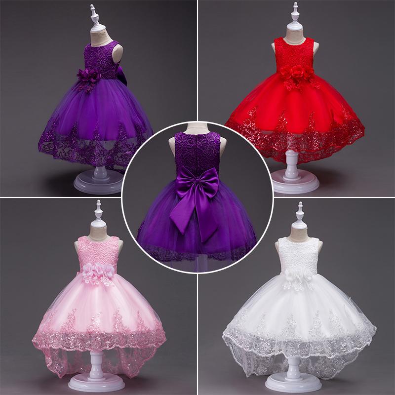 Damas De Honor Lazo Vestido Princesa Niño Bebé Fiesta Boda Formal | eBay