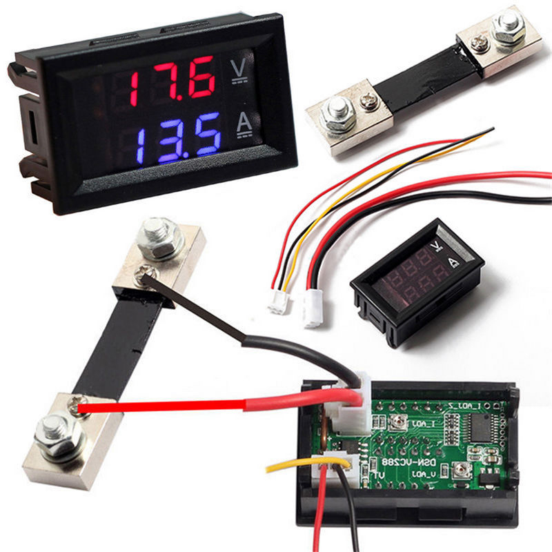 70c5a732 f564 407f a376 07a9e7c7ecc2 ammeter shunt amp & voltmeters ebay DC Amp Meter Wiring Diagram at aneh.co