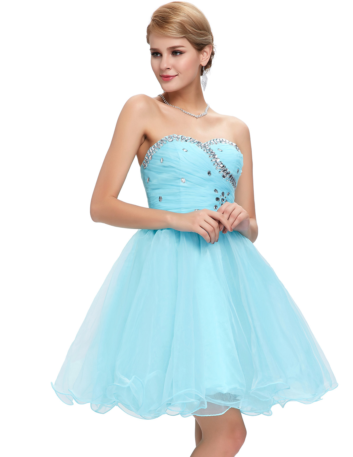 Short Prom Graduation Girls Quinceanera Party Cocktail Gown Formal ...