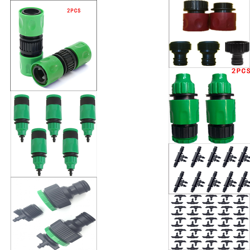New Garden Water Hose Pipe Tap Quick Connector Tube  Fitting Adaptor Female U,de