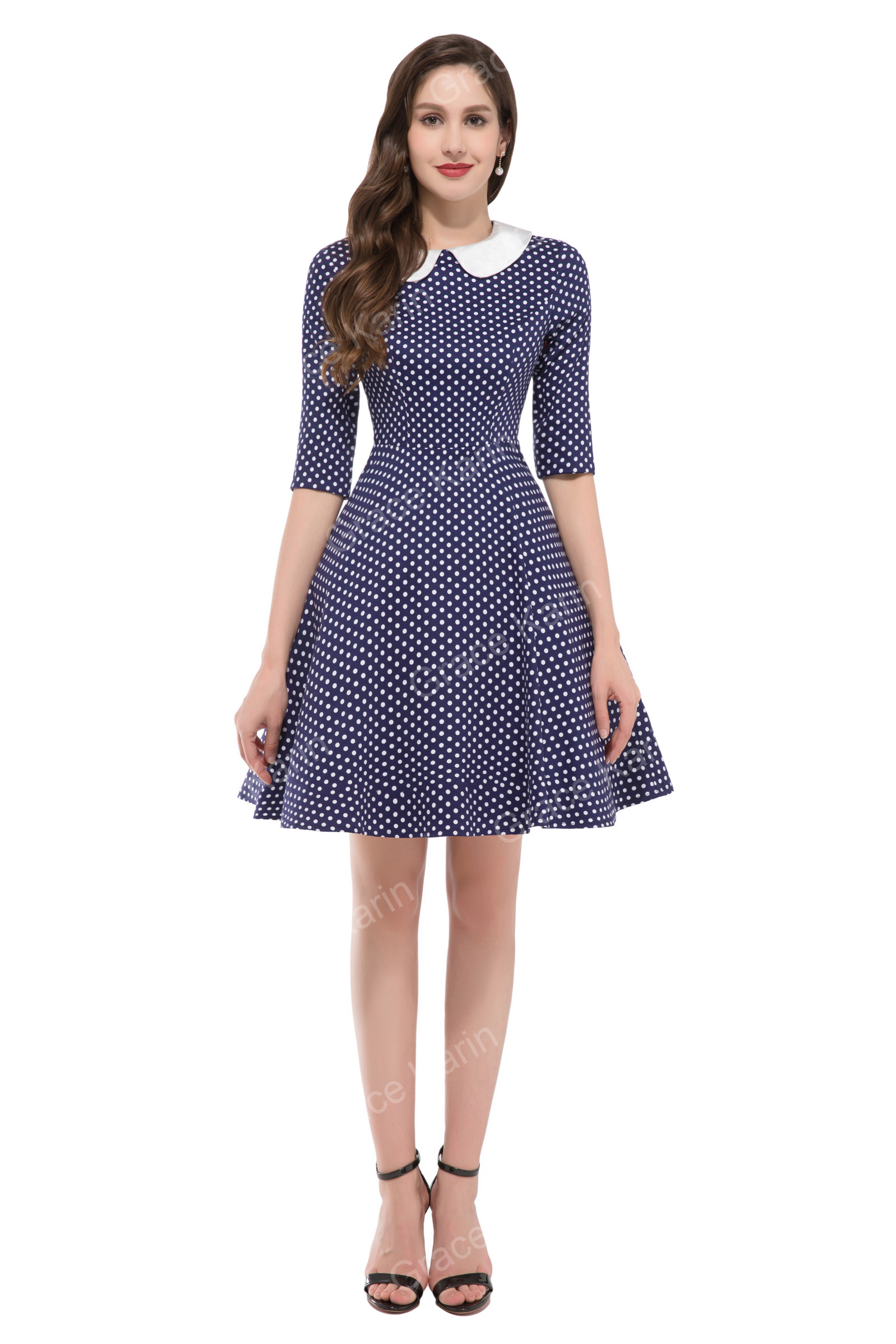 Women 50s 60s Vintage Swing Pinup Retro Housewife Party Homecoming ...