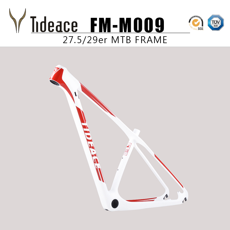 "Aero Carbon Mountain Bicycle Frame 26er 14/"" Cycling MTB Bike Frames Glossy OEM"