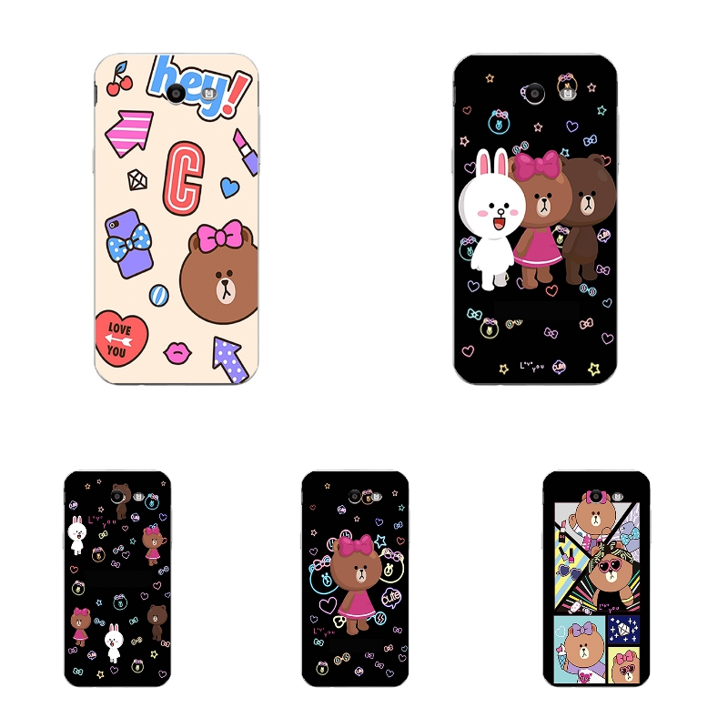 a3518ddbd6d Details about Case For Samsung Galaxy J7 Prime On7 2016 Soft TPU Phone Back  Cover Cute Bears