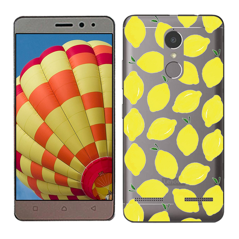 Soft TPU Silicone Case For Lenovo Vibe K6 Power Phone Back Cover Skins Clear
