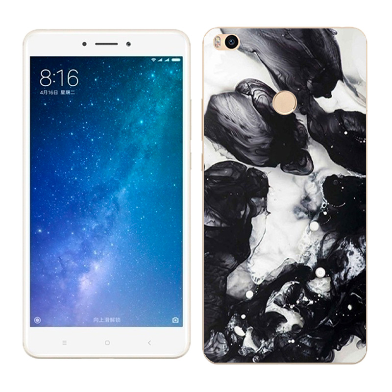 6 44 Soft TPU Silicone Case For Xiaomi Mi MAX2 Phone Back Covers Skins View