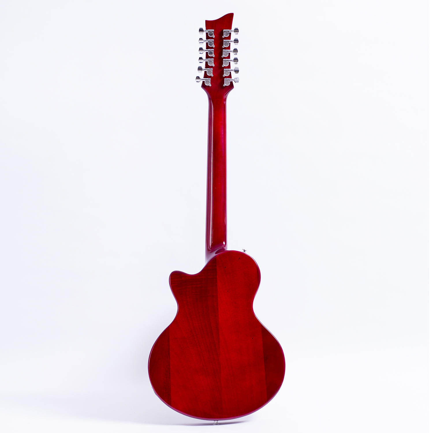 2019 grote electric guitar 12 strings semi hollow flame maple top flower inlay ebay. Black Bedroom Furniture Sets. Home Design Ideas