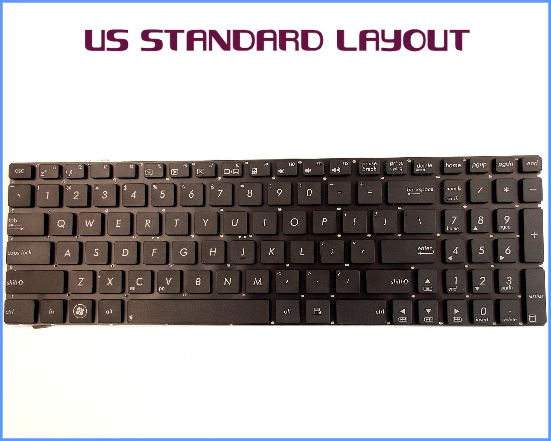 New for ASUS N56VZ-S4049V N56VZ-S4036V N56VZ-S4035D N56VZ-S4026V Keyboard US