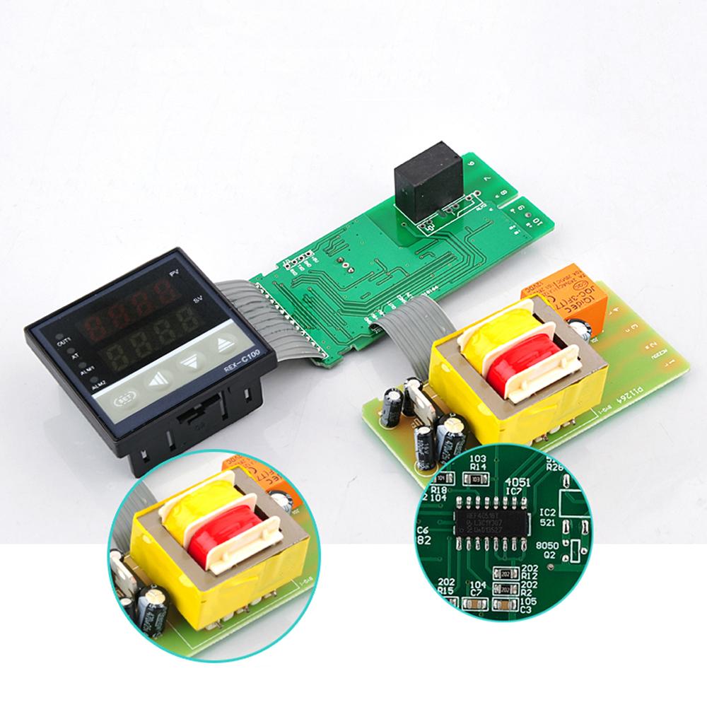 Uk Thermocouple Rex C100 Dual Digital Pid Celsius Temperature Wiring Diagram Controller 0400
