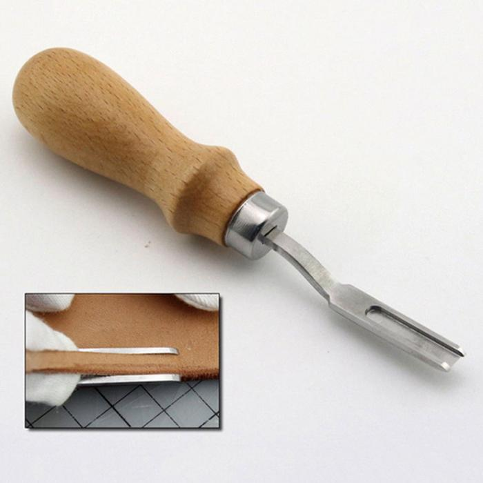 DIY Leather Craft Kit Stitching Sewing Beveler Punch Working Hand Tools Set