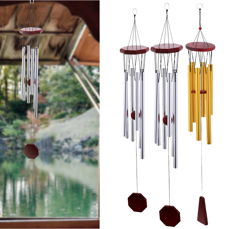 Chapel Bells Resonant Deep Tone Wind Chimes Living Garden Yard Hanging Windchime