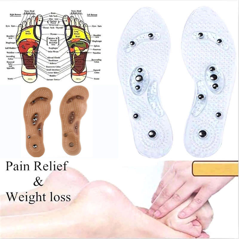Acupressure Magnetic Massage Foot Therapy Reflexology Pain Relief MindInSole