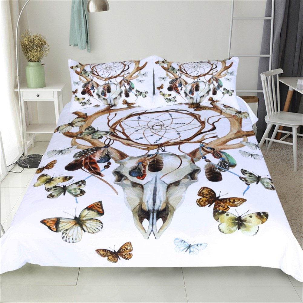 Feather Dreamcatcher Duvet Quilt Cover Bedding Sets Au