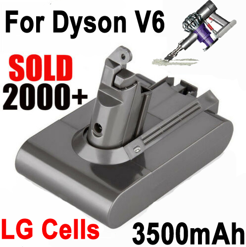 3 5ah Battery For Dyson Absolute V6 Dc58 Dc59 Dc61 Dc62