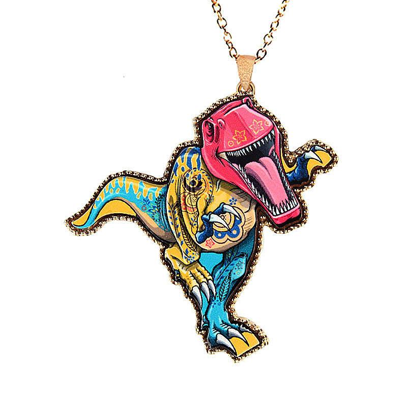 Necklaces woman cartoon animal diamond painted pendants chain necklaces woman cartoon animal diamond painted pendants chain aloadofball Gallery