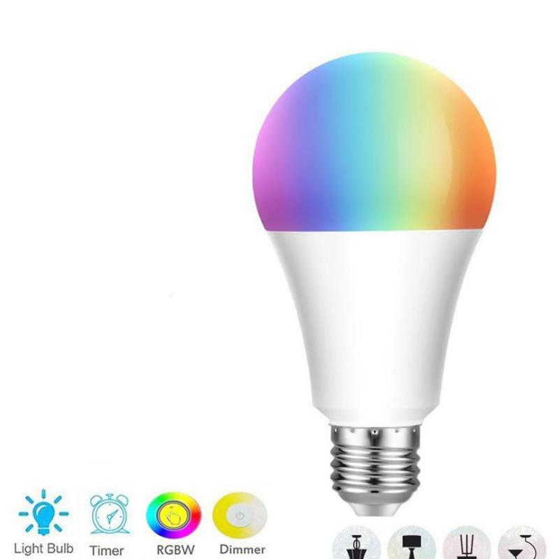 B22 Wifi Smart APP Remote Control Wifi Light Bulb For Echo Alexa Google Home New